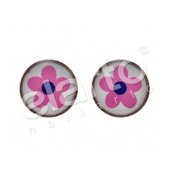 Kolczyki kwiatuszki 7512-0609