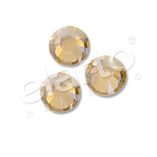 Crystal Golden Shadow SS 7 złota 50 szt.