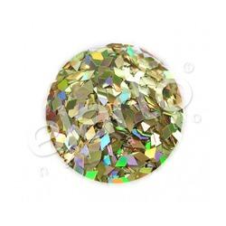 Hologramowe romby / diamenty złote (75)