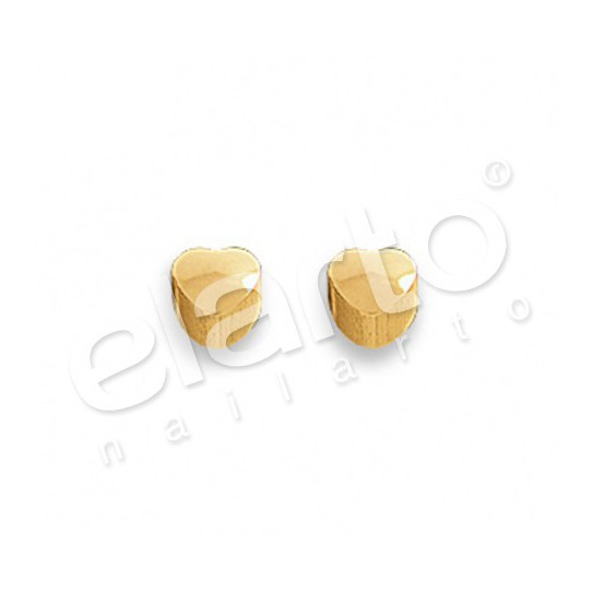Kolczyki mini serduszko złote 2 szt. M 502 Y