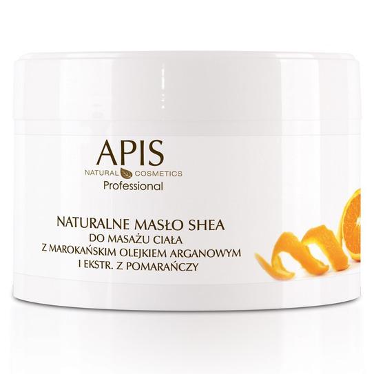 Naturalne masło shea do masażu ciała z ekstraktem z pomarańczy 200g