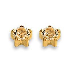 Kolczyki brylant w złotych pazurkach 2 szt. R 104 Y