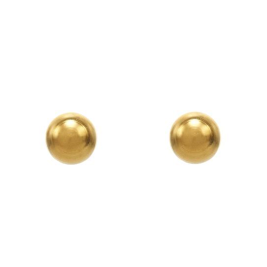 Kolczyki złote kuleczki 3mm 7531-0300