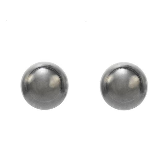 Kolczyki srebrne kuleczki 4mm 7512-0300