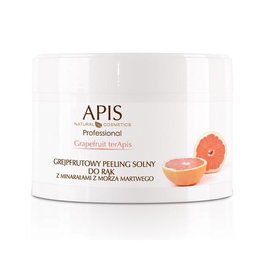 Grapefruit terApis grejpfrutowy peeling solny z minerałami z Morza Martwego 300 g