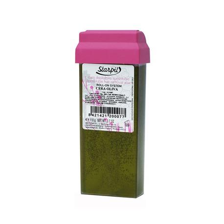 Wosk oliwkowy z aplikatorem roll-on wkład 110 g
