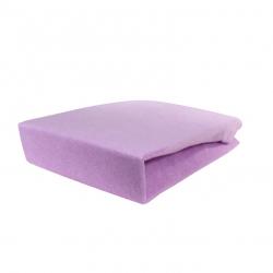 Pokrowiec frotte na fotel / łóżko kosmetyczne 70x190x10cm fioletowy
