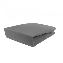 Pokrowiec frotte na fotel / łóżko kosmetyczne 70x190x10cm szary