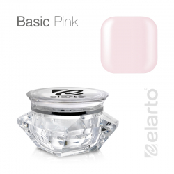 Żel średniogęsty różowy mleczny Basic Pink 5g