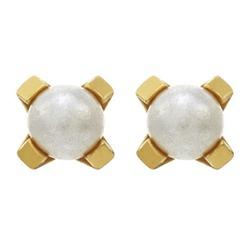 Kolczyki z perłą 4mm w złocie 2 szt. 7521-1301 148