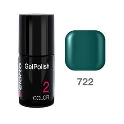 Żel hybrydowy GelPolish nr 722 - butelkowa zieleń 7ml