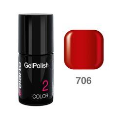 Żel hybrydowy GelPolish nr 706 - Fiery Red 7ml
