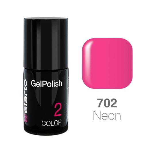 Żel hybrydowy GelPolish nr 702 - fuksja neon 15ml