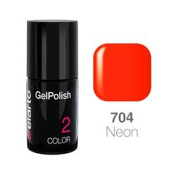 Żel hybrydowy GelPolish nr 704 - pomarańczowy ciemny neon 7ml