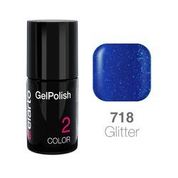 Żel hybrydowy GelPolish nr 718 - Blue Dust 7ml