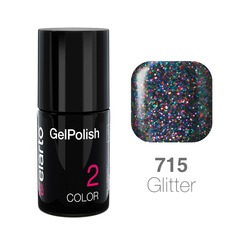 Żel hybrydowy GelPolish nr 715 - multikolor brokat 7ml
