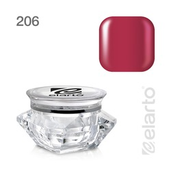 Żel kolorowy Extreme Color Gel nr 206 - malinowa czerwień 5g