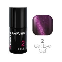Żel hybrydowy GelPolish Cat Eye Gel nr 2 - fioletowy 7ml