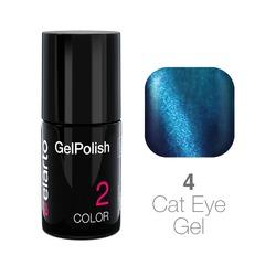 Żel hybrydowy GelPolish Cat Eye Gel nr 4 - niebieski 7ml