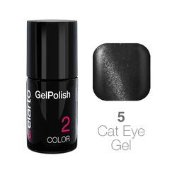 Żel hybrydowy GelPolish Cat Eye Gel nr 5 - grafitowy 7ml