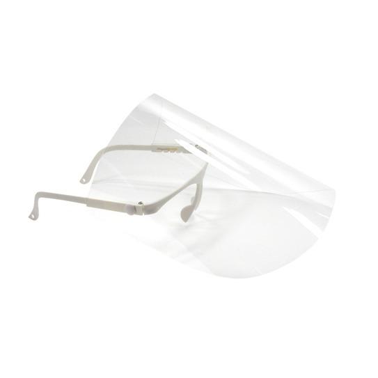 Okulary z maską do ochrony twarzy + 10 x przyłbica