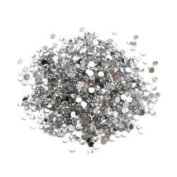 Cyrkonie do paznokci Crystal SS 8 (srebrne) 1440szt