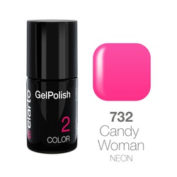 Żel hybrydowy GelPolish nr 732 - Candy Woman neon 7ml