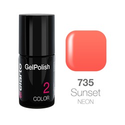 Żel hybrydowy GelPolish nr 735 - Sunset neon 7ml