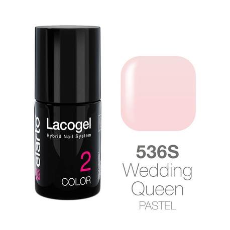 Lakier hybrydowy Lacogel nr 536S - Wedding Queen pastel 7ml