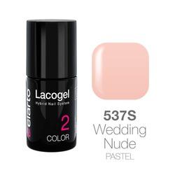 Lakier hybrydowy Lacogel nr 537S - Wedding Nude pastel 7ml