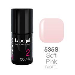 Lakier hybrydowy Lacogel nr 535S - Soft Pink pastel 7ml