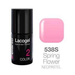 Lakier hybrydowy Lacogel nr 538S - Spring Flower neopastel 7ml