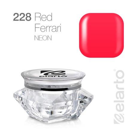 Żel kolorowy Extreme Color Gel nr 228 - Red Ferrari (neon) 5g