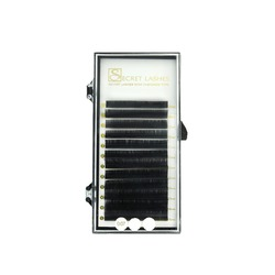 Rzęsy kaszmirowe czarne Mink Cashmere Lashes C 8x0,07