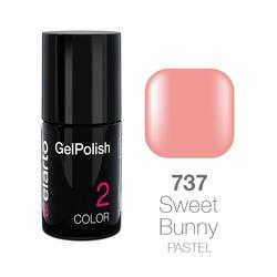Żel hybrydowy GelPolish nr 737 - Sweet Bunny pastel 7ml