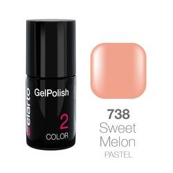 Żel hybrydowy GelPolish nr 738 - Sweet Melon pastel 7ml