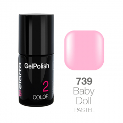 Żel hybrydowy GelPolish nr 739 - Baby Doll pastel 7ml