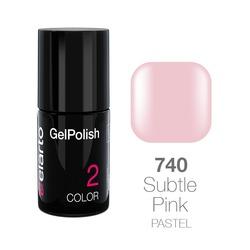 Żel hybrydowy GelPolish nr 740 - Subtle Pink pastel 7ml
