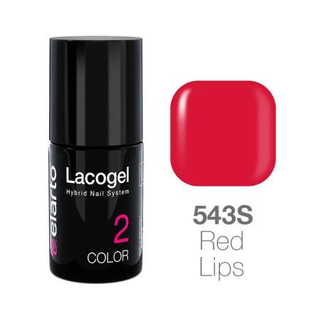 Lakier hybrydowy Lacogel nr 543S - Red Lips 7ml