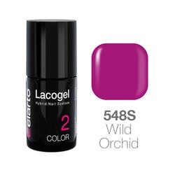 Lakier hybrydowy Lacogel nr 548S - Wild Orchid 7ml