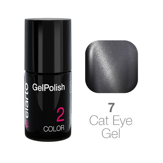 Żel hybrydowy GelPolish Cat Eye Gel nr 7 - szary 7ml