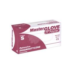 Rękawiczki lateksowe bezpudrowe rozm. S Master Glove