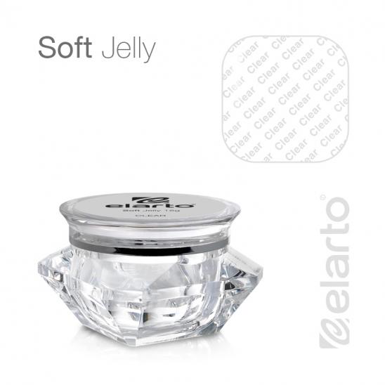 Żel UV/LED bezbarwny gęsty Soft Jelly 50g