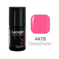 Lakier hybrydowy Lacogel nr 447S - Sweetheart 7ml