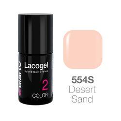 Lakier hybrydowy Lacogel nr 554S - Desert Sand 7ml