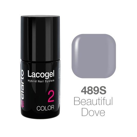 Lakier hybrydowy Lacogel nr 489S - Beautiful Dove 7ml