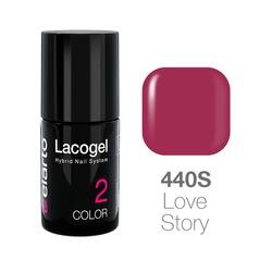 Lakier hybrydowy Lacogel nr 440S - Love Story 7ml