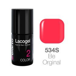 Lakier hybrydowy Lacogel nr 534S - Be Orginal 7ml
