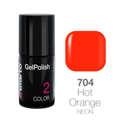 Żel hybrydowy GelPolish nr 704 - Hot Orange 7ml
