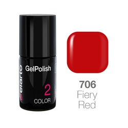 Żel hybrydowy GelPolish nr 706 - Fiery Red 7ml